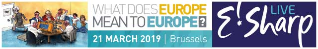 What does Europe mean to Europe? E!Sharp Live, 21 March 2019
